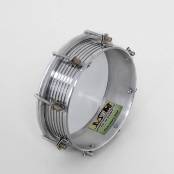 """Tamborim 6"""" aluminium - 8 tirants Ivsom A110803"""