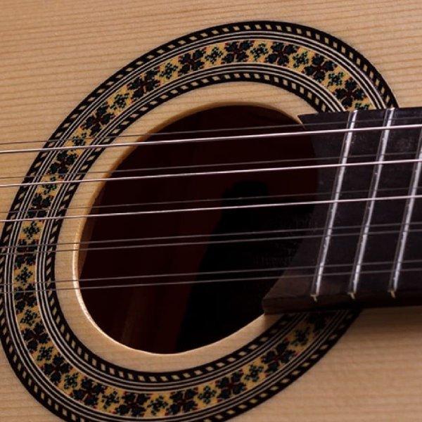 Viola dourada cinturada eletric Rozini A316617