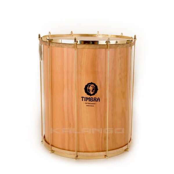 Surdo, 18'' x 55cm, Holz, Naturfelle, goldene Hardware Timbra A336119