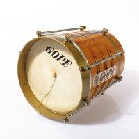 Cuica 8'' madera, aro de latón