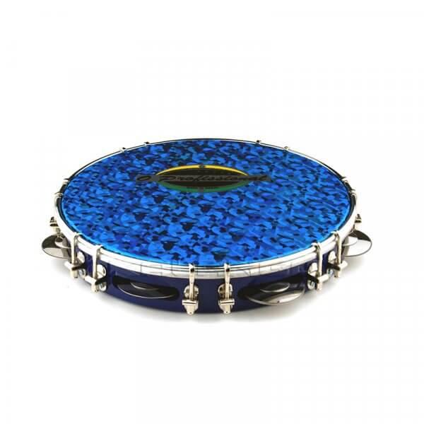 Pandeiro 10'' - blau O Profissional A413011
