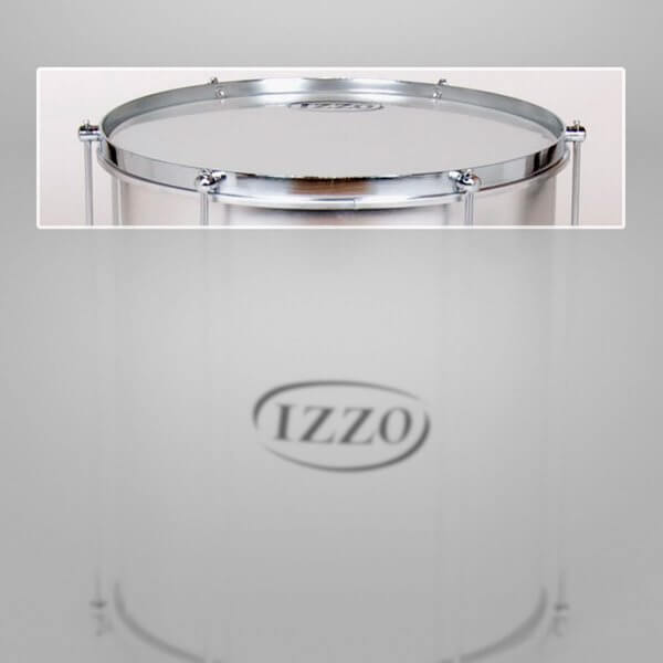 Surdo rim 14'' side of rods for 6 lugs, chrome Izzo A329114