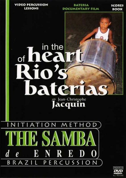 "DVD ""In the heart of Rio`s baterias"" DEAL! KALANGO A807810"