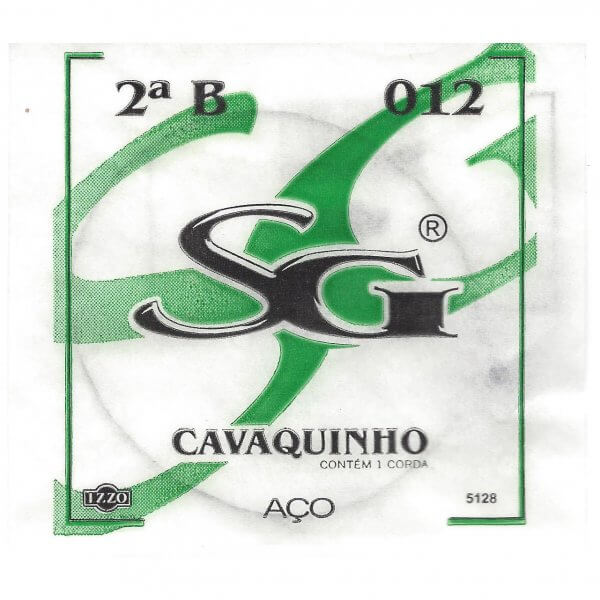 2. B Saite Cavaquinho 0,33 mm Izzo A324011