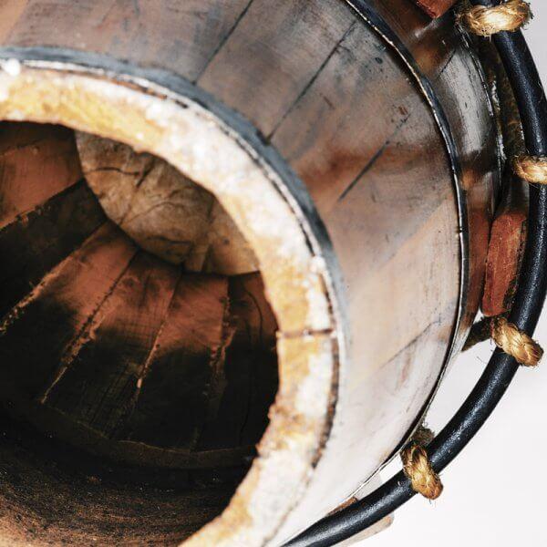 Atabaque 75 cm - Schnurspannung Mestre Negao A161075