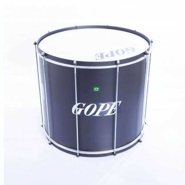 Surdo light 22'' x 45 cm - schwarz, HW schwarz Gope A373105
