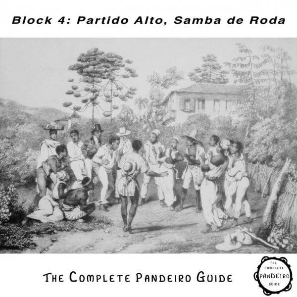 Pandeiro Guide - Partido Alto Samba de Roda HP Percussion A674104