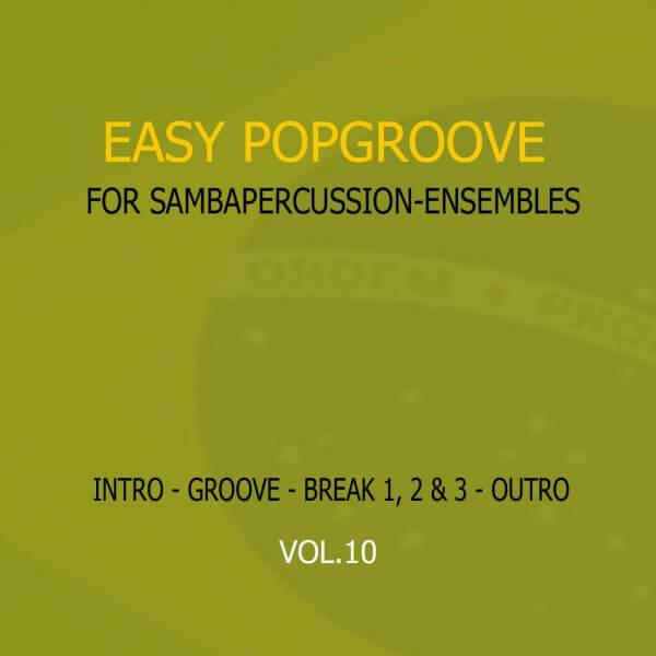 Samba Groove Easy Pop Groove Vol. 10 SambaGroove A810010