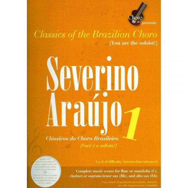 Songbook Severino Araujo Vol. 1 ChoroMusic A871834