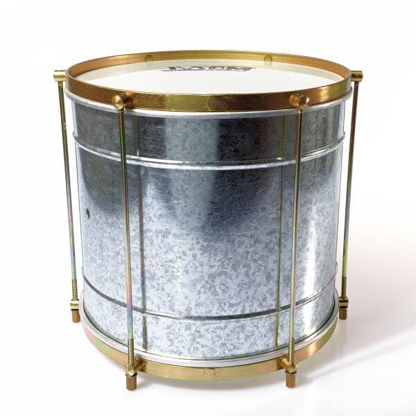 Repinique 12'' x 27 cm - galvanisiertes Blech Ivsom A110614