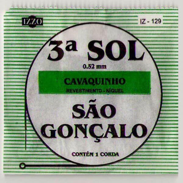 3. G Saite Cavaquinho 0,52 mm Izzo A324012