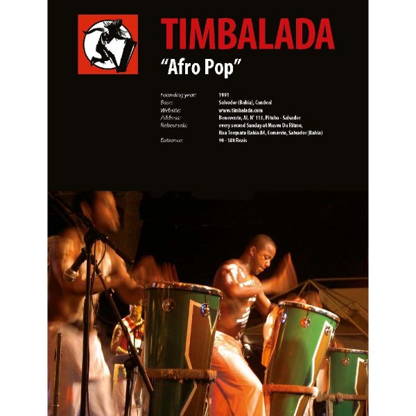 Blocos Afro - Ebook Download HP Percussion A674120