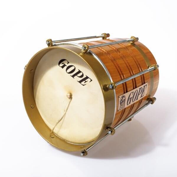 Cuica 8'' Holz, Spannring Messingoptik Gope A371713