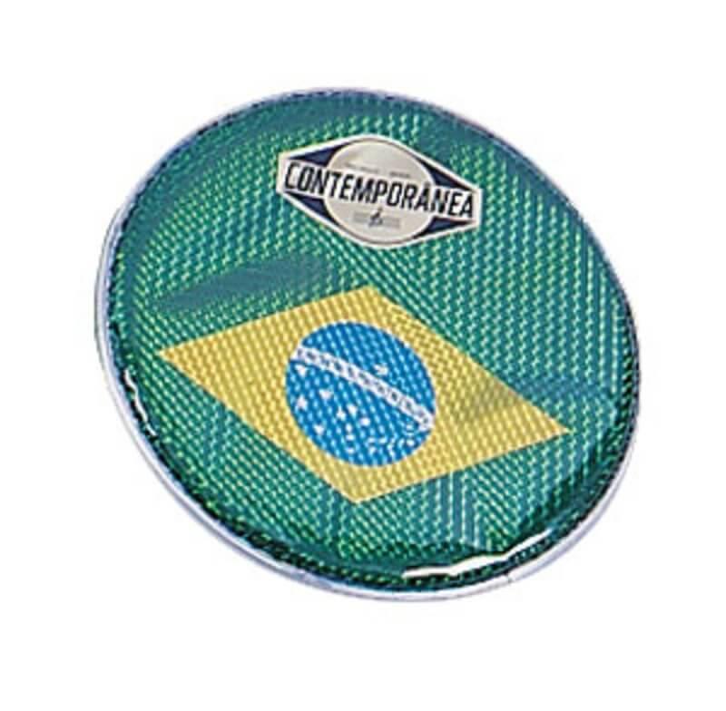 Contemporânea  Pandeiro Hologrammfell Brasil 10'' A348410