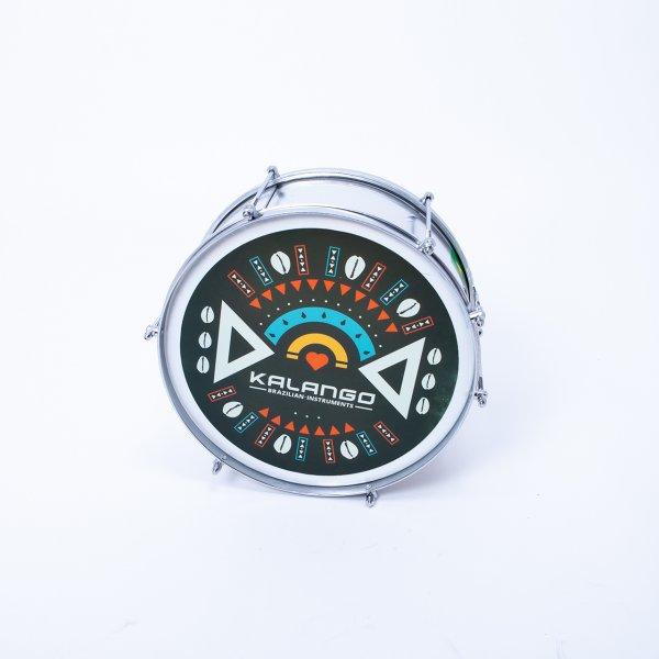 Caixa u. Snare Custom Fell bedruckt KALANGO CU00006