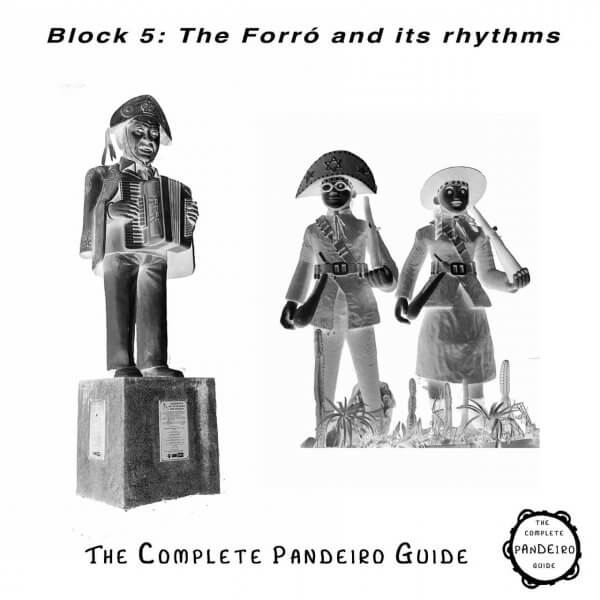 Pandeiro Guide - The Forró and its rhythms HP Percussion A674105
