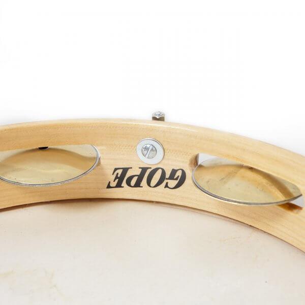Pandeiro 10''- Flatrim, Messingschellen Gope A371105