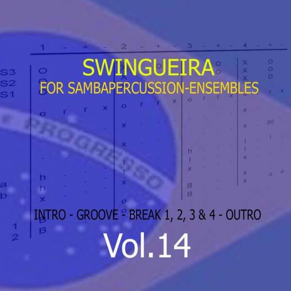 Samba Groove Swingueira Vol. 14 SambaGroove A810014