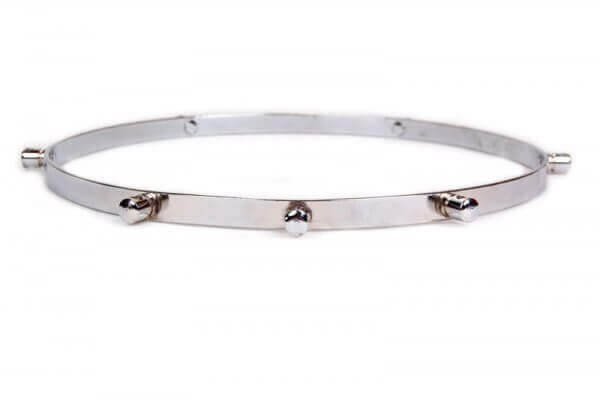 Rim repinique 12'' - side with nuts, chromed for 8 rods Artcelsior A102640