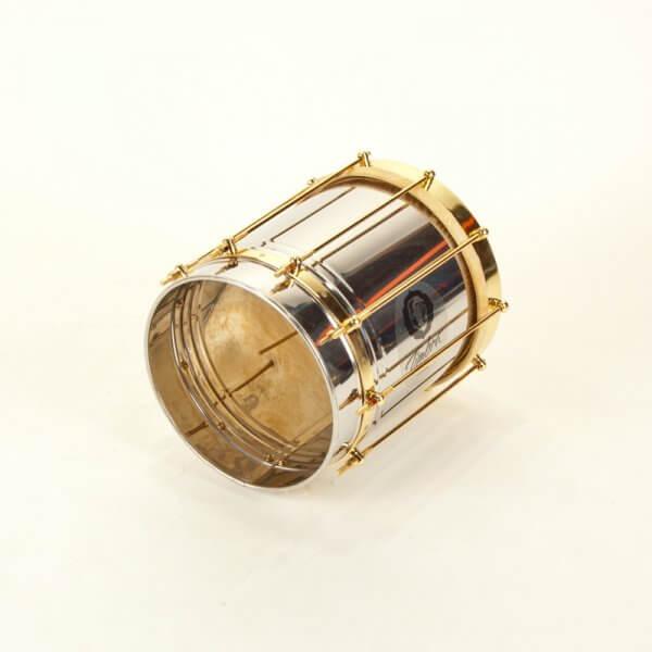 Cuica 10'' x 30 cm - Inox, vergoldete Hardware Timbra A332130