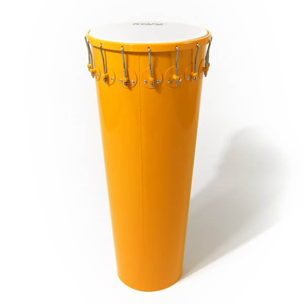 Timbal 14'' x 90 cm aluminio, amarillo, 16 ganchos Gope A374065