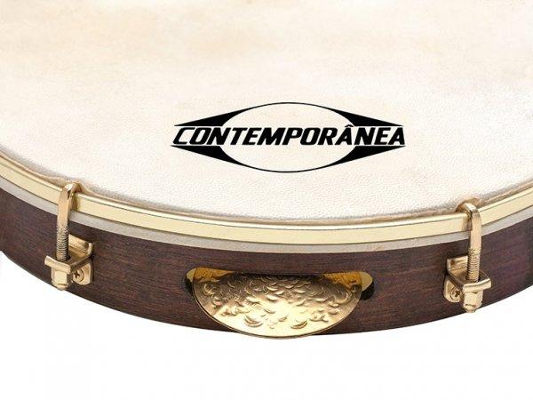 Pandeiro 10'' Luthier, peau natural Contemporânea A341512