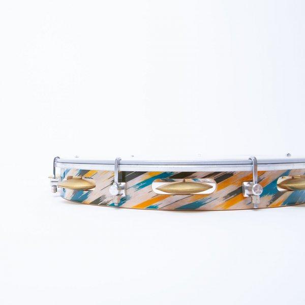 "Pandeiro 12"" - Cristal Head Coating Brazil Gope A371110"