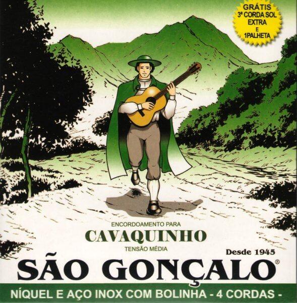Satz Saiten Cavaquinho Izzo A325110