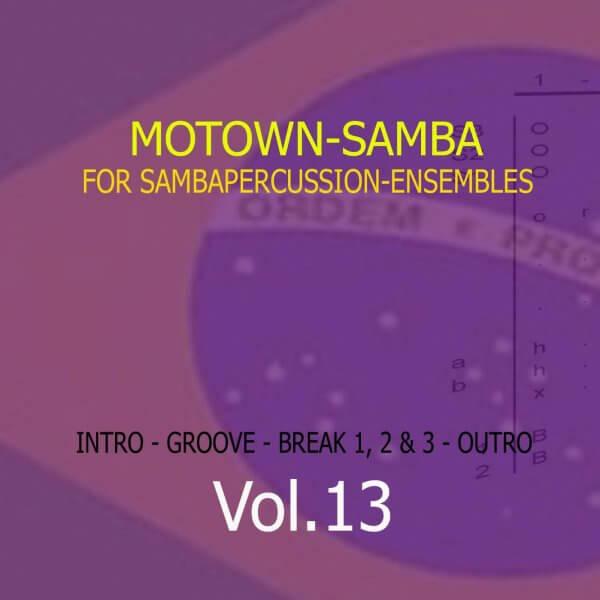 Samba Groove Motown Samba Vol. 13 SambaGroove A810013