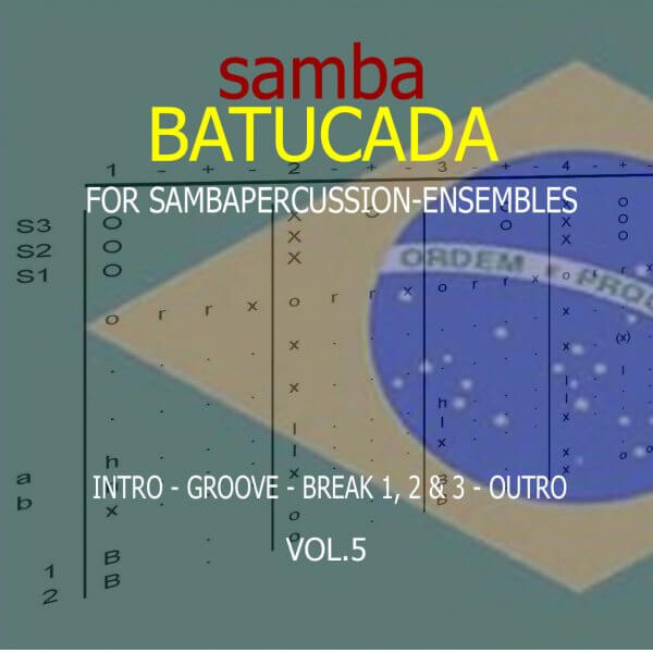 Samba Groove Batucada Vol. 5 SambaGroove A810005