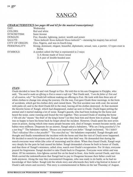 Afro-Brazilian Percussion Guide 3 - Candomblé KALANGO A871912