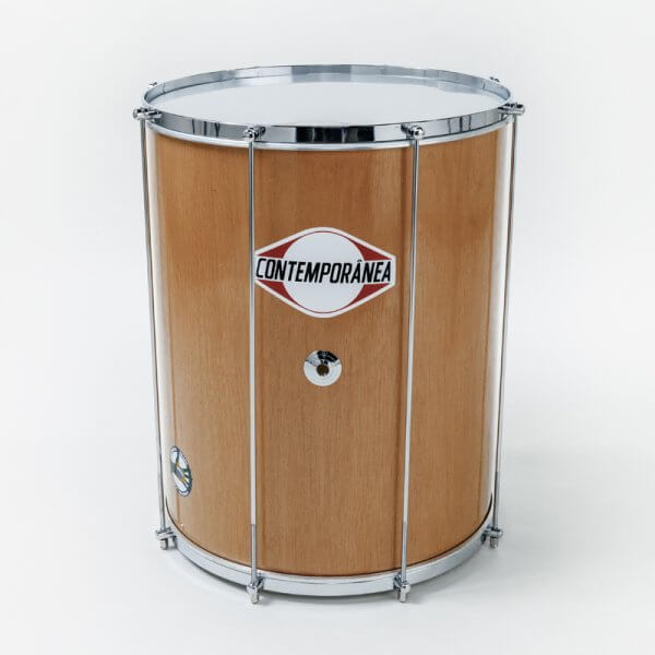 Surdo 16'' x 50 cm - wood, nylon heads Contemporânea A345516