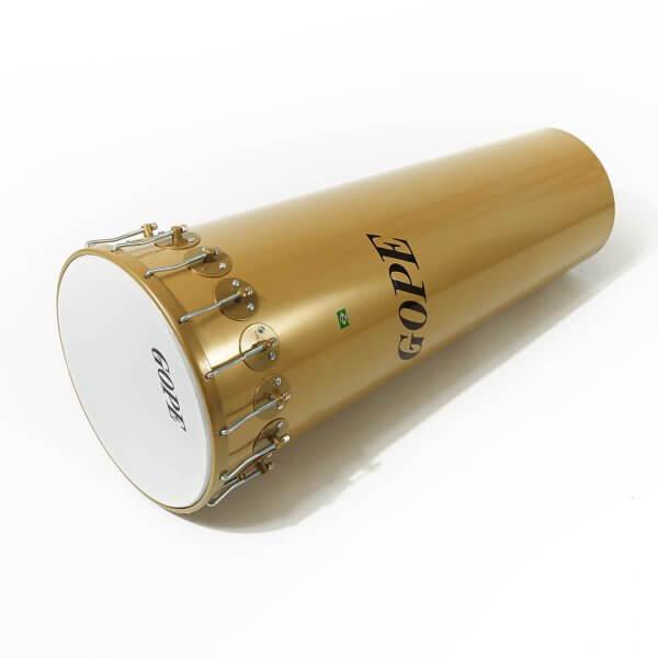 Timbal 14'' x 90cm - Alu, gold, 16 Spannhaken Gope A374061