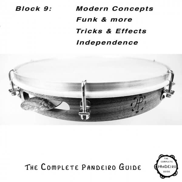 Pandeiro Guide - Modern Concepts, Funk, Effects, Independence HP Percussion A674109