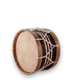 which percussion instrument is featured in this example