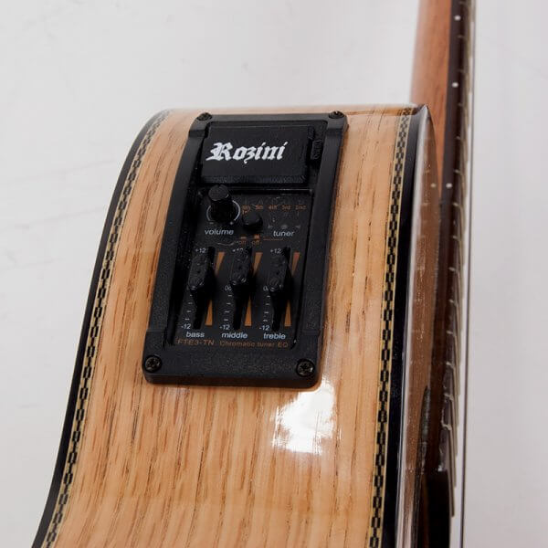Style Viola - 3 Band. EQ., natural Rozini A316612