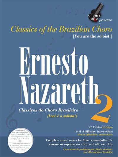 Songbook Ernesto Nazareth Vol. 2 ChoroMusic A871833