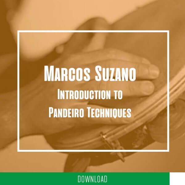 Marcos Suzano - introduction aux techniques de pandeiro KALANGO A5271DE