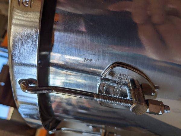 """B-STOCK Timbal 14"""" x 70cm Aluminium, 8 Spannhaken Contemporânea BS10109"""