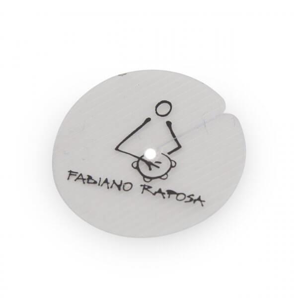 Dämpfungsblättchen für Pandeiroschellen Fabiano Raposa A621010