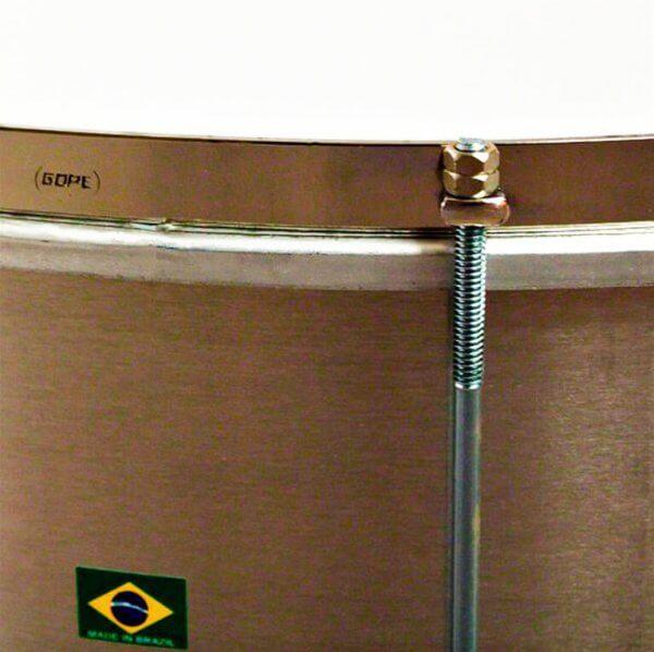Surdo light 20'' x 40cm Aluminium HW Chrom Gope A373304