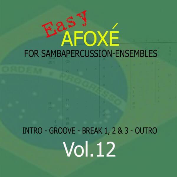 Samba Groove Easy Afoxe Vol. 12 SambaGroove A810012