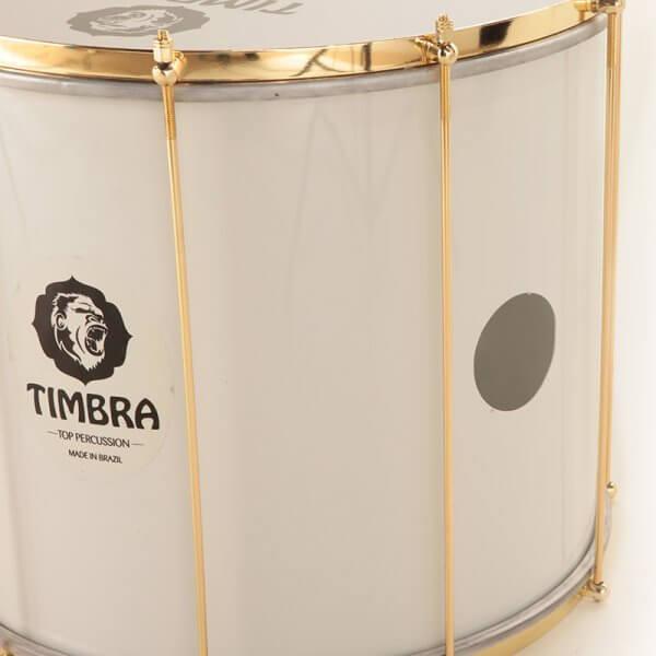 Timbra   Surdo Axé, 18''x40cm - weiß, goldene HW - DEAL A334318