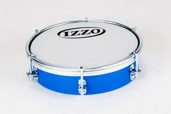Izzo   Tamborim 6'' - Kunststoff, blau A321915