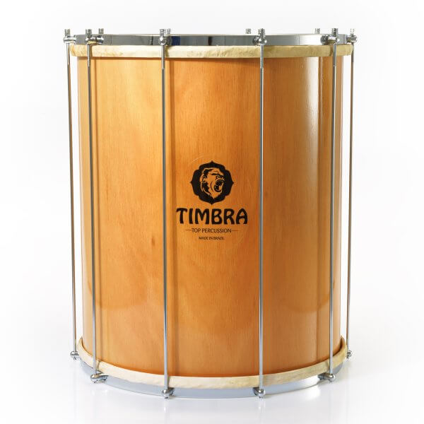 Surdo 18'' x 55 cm - madera - parches animal Timbra A336118