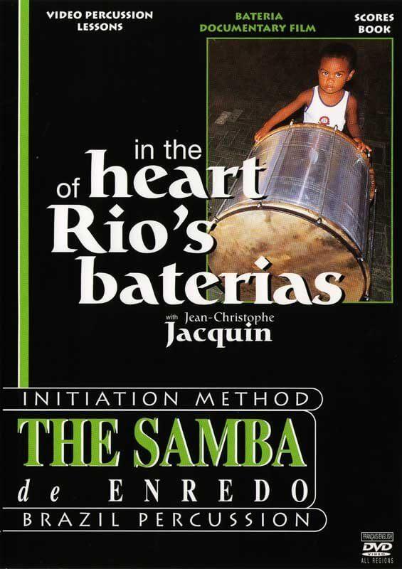 """KALANGO   DVD """"In the heart of Rio`s baterias"""" DEAL! A807810"""