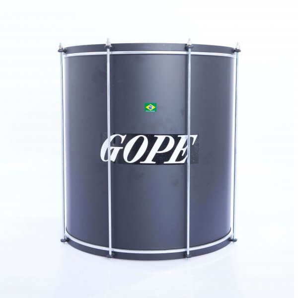 Surdo light 18'' x 45 cm - black, HW black Gope A373103