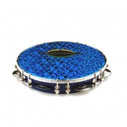Pandeiro 10'' - blau